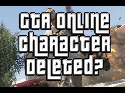 GTA 5 Online Character Deleted GTA Online Fix/Guide