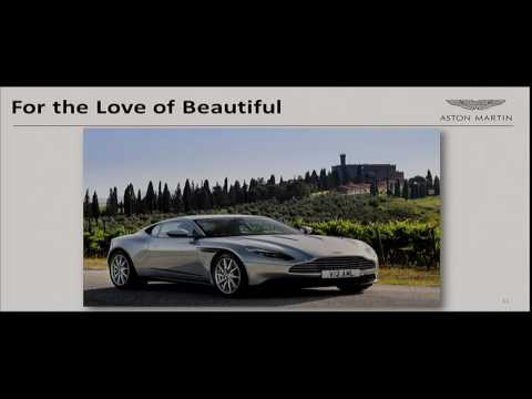 "PARC Forum:  ""Aston Martin: The Brand Journey of a 100 Year-old Startup"""