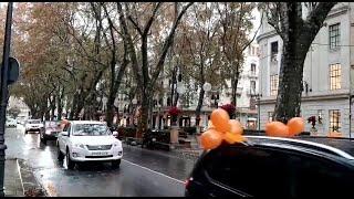 Unos 350 vehículos salen a las calles de Palma en protesta contra la Ley Celaá