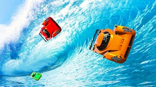 EXTREMELY LONG OCEAN WALLRIDE! (GTA 5 Funny Moments)