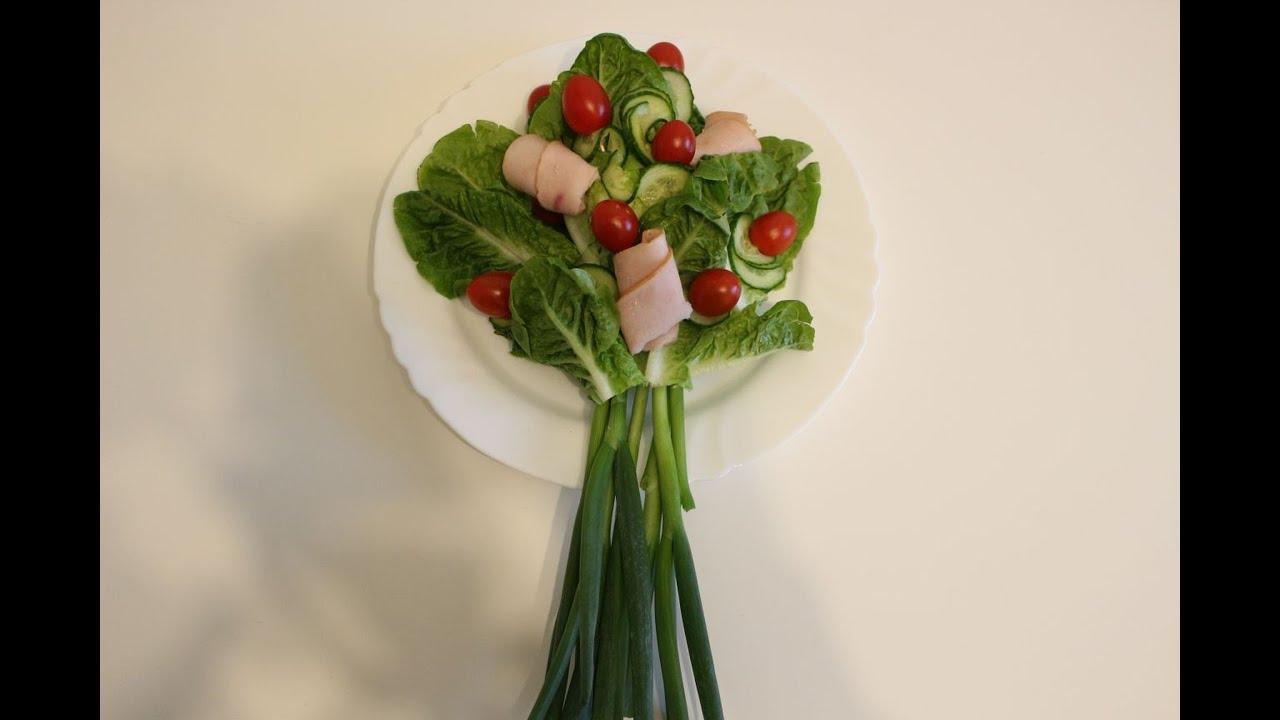 diy gem se als blumenstrau vegetables as a bouquet youtube. Black Bedroom Furniture Sets. Home Design Ideas