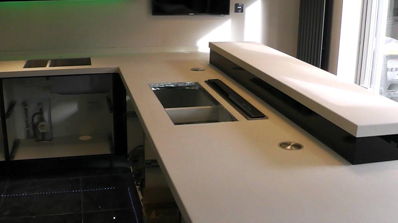 Corian Vanilla Kitchen Worktops By Prestige Work