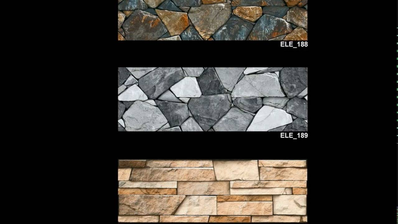 Front Elevation Tiles Combination : Elevation wall tiles cm exterior