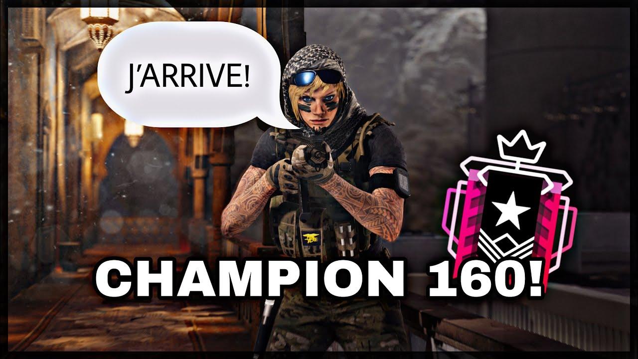 J'AFFRONTE UN CHAMPION...! - Rainbow Six Siege