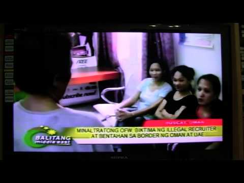 OFW IN OMAN VICTIMIZED BY ILLEGAL RECRUITER WITH THE HELP OF IMMIGRATION OFFICER IN MANILA