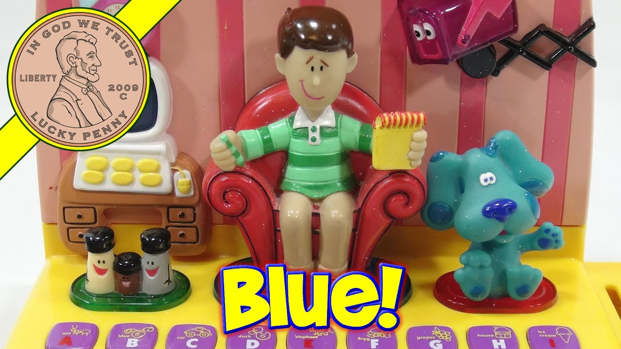 Blues Clues Electronic Learning Computer 2000 Mattel Toys