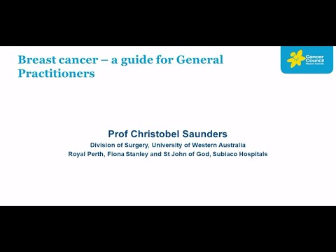 Breast Cancer - A guide for general practitioners