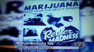 Springfield MO NORML: Mark Pedersen Cannabis Drug Law Discussion KY3
