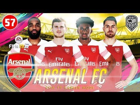 FIFA 19 Arsenal Career Mode: Perjuangan Untuk Masuk Zona Liga Champions UEFA Dimulai #57