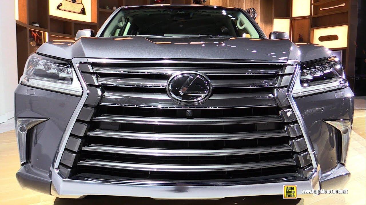 2018 Lexus Lx 570 Exterior And Interior Walkaround 2018 Detroit Auto Show