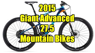 2015 Giant Trance, Anthem and Anthem SX Advanced 27.5 Bikes Review / First Look
