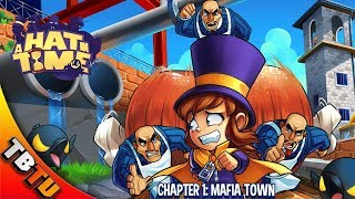 A Hat In Time Gameplay E1 - EXCITING NEW 3D PLATFORMER! BEATING UP THE MAFIA! - Awesome Steam Games