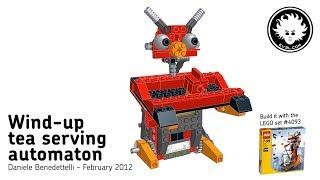 LEGO Wind-up Tea Serving Automaton