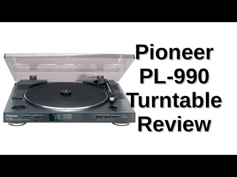 Pioneer Pl-990 Turntable Review