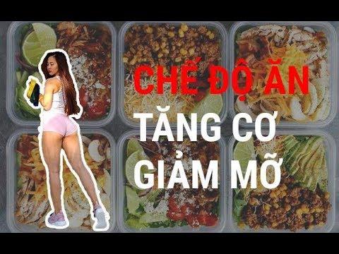 CHẾ ĐỘ ĂN TĂNG CƠ GIẢM MỠ CHO NỮ | Ngày 2 : UPPER BODY|An Nguyen Fitness