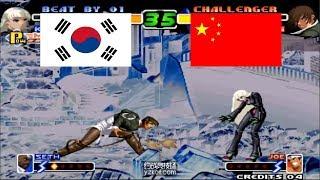Kof 2000 - madkof동네형 VS Cheng Long 程龙 Yzkof