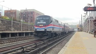 Amtrak Inspection Train #828 @ Tremont (MNR Harlem Line)