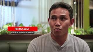 JELANG INDONESIA VS MYANMAR BIMA SAKTI GANTIKAN LUIS MILLA