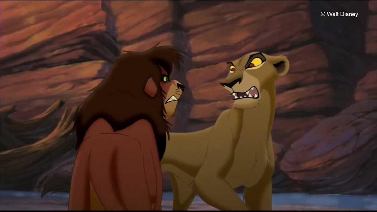 The Lion King 2 Nuka S Death Finnish Hd 1080p Youtube