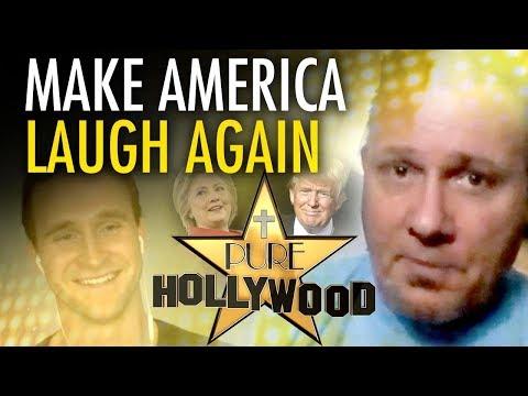 Make America laugh again: Pro-Trump comedian Michael Joiner w/ Ben Davies