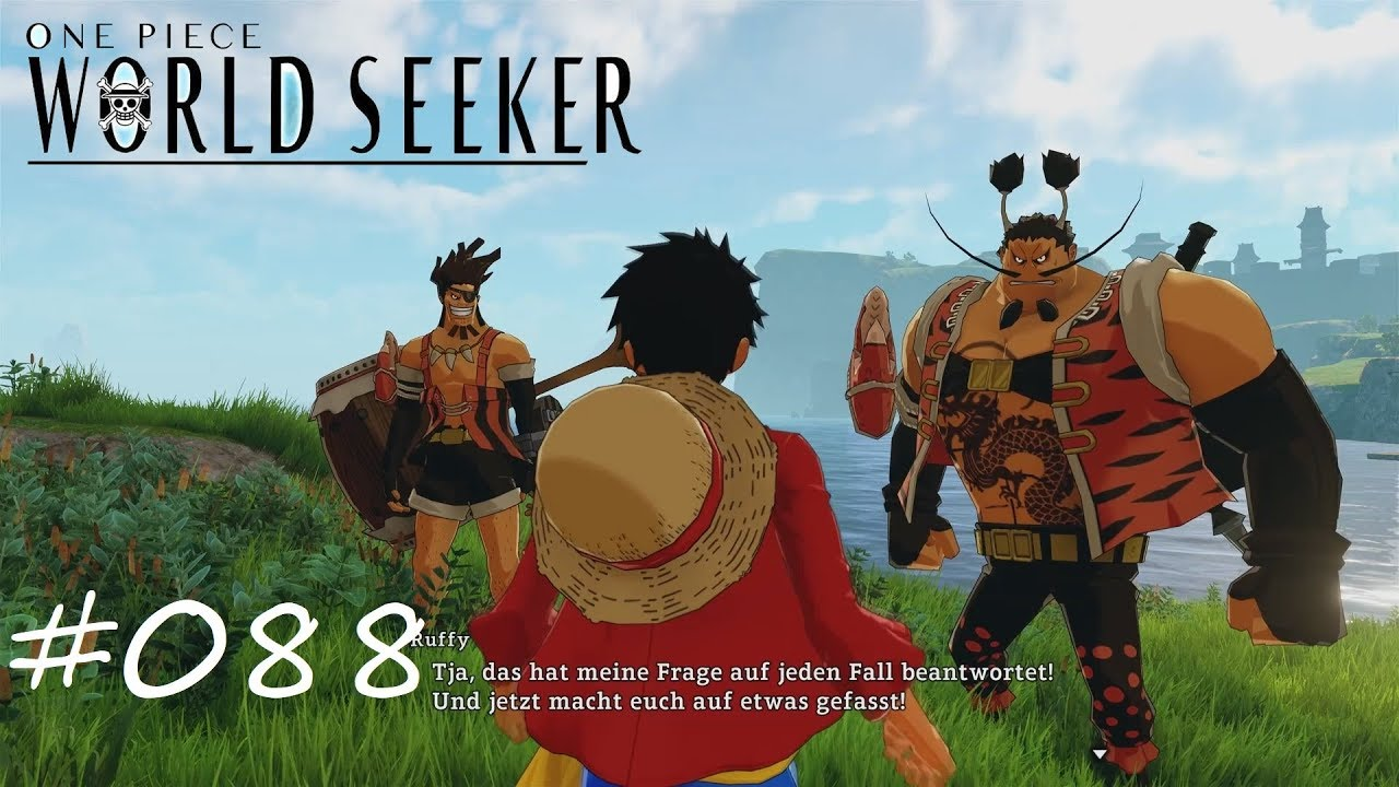 One Piece World Seeker 088 Marinegerechtigkeit Letsplay German Youtube