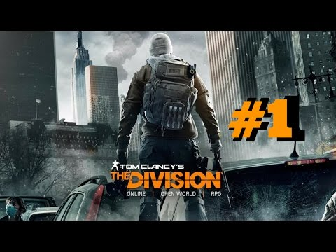 The Division Co-op Gameplay (Part 1): Police Academy