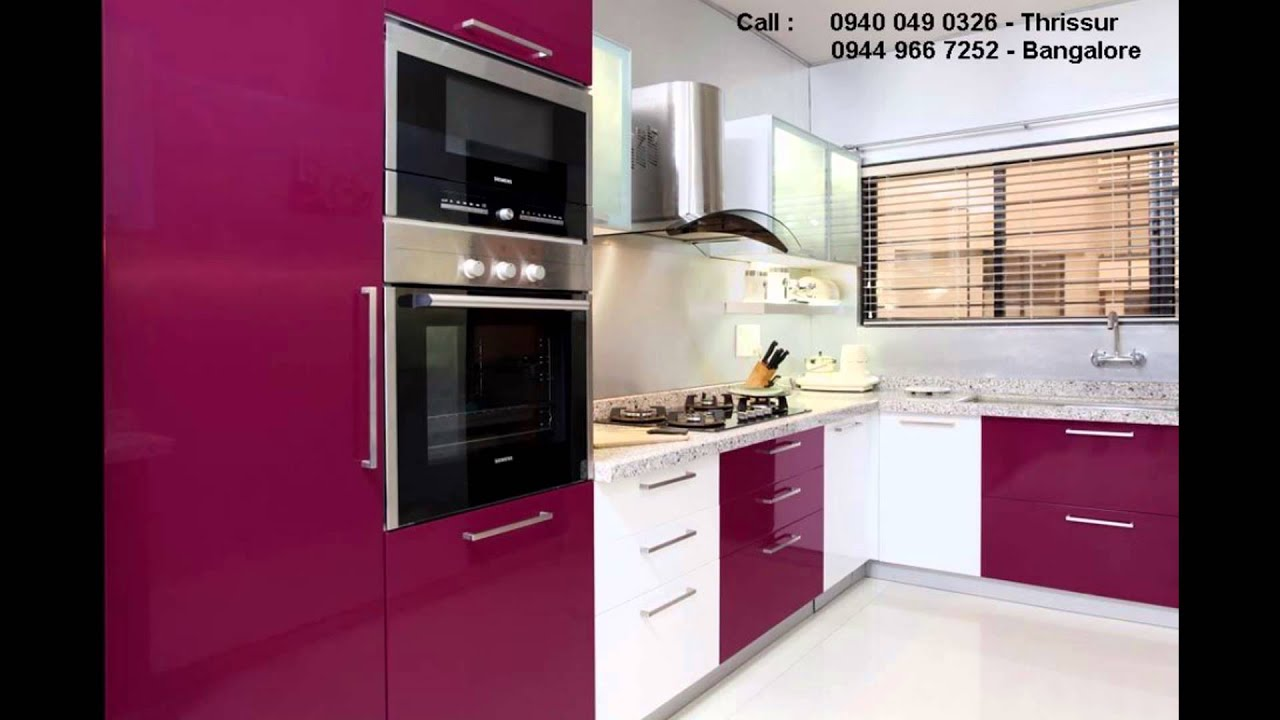Bangalore Modular Kitchen Interior Designs Call 9449667252 Youtube