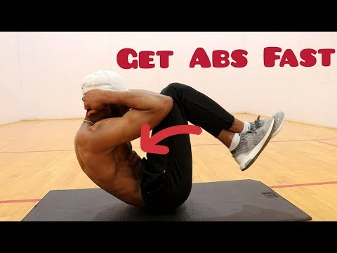 How To Get Six Pack Abs Fast (Complete Walk Through)