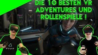 Die 10 besten Adventures und Rollenspiele für VR! [German][Vive][Rift][Virtual Reality][Top 10]