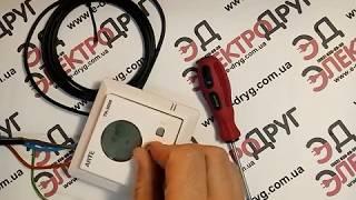 Программируемый терморегулятор Arte TH-3000. Обзор, подключение, проверка