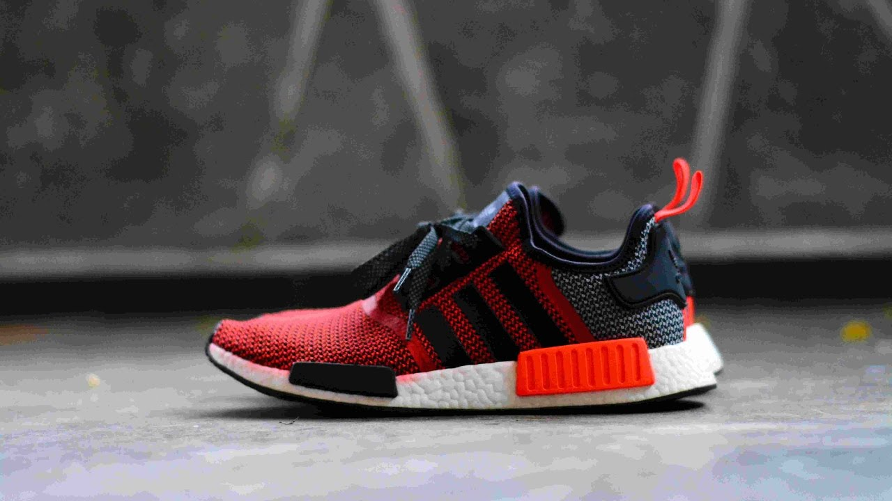 huge selection of d0175 e327a Adidas NMD Lush Red - Closer Look & On-Feet