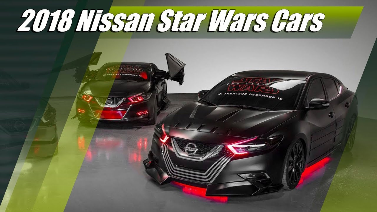 Nissan Star Wars Cars - Rogue, Rogue Sport, Altima and ...