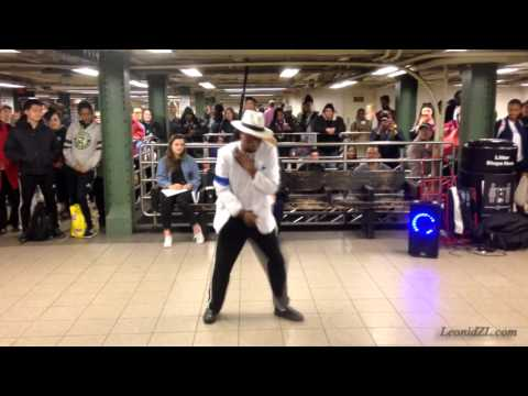 Michael Jackson Street Dance 'Smooth Criminal'