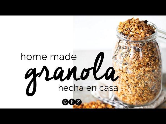 Granola: ¿Cómo hacer granola en casa?