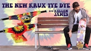 "Smooth Kellen James breaks down why he loves Krux and gets busy in the streets of SD and Portland. Krux TyeDye trucks available now!    http://kruxtrucks.com @kruxtrucks #wefuxwidit  MUSIC: Dengue Fever ""1000 Tears Of A Tarantula"" Live at KEXP http://denguefevermusic.com"
