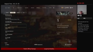 Live playing Call of duty WW2  Grading the game out