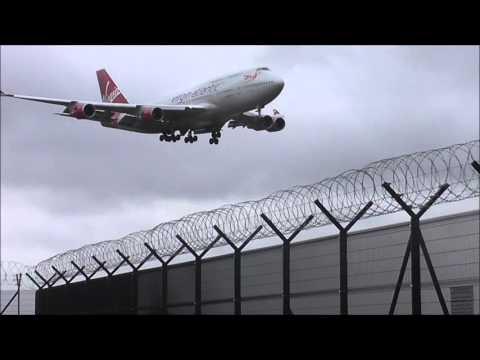 Manchester Airport Pub Plane Spotting