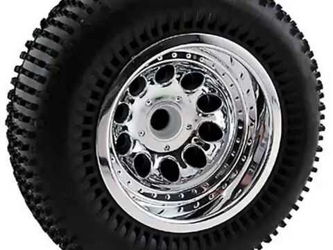Get RPM Revolver 2.2 Truck Wheels, Associated Front, Chrome Product images