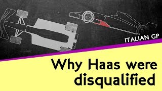 Why Haas were disqualified from the Italian GP for a dodgy floor