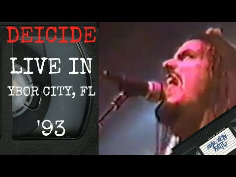 Deicide Live in Ybor City FL May 5 1993 FULL CONCERT