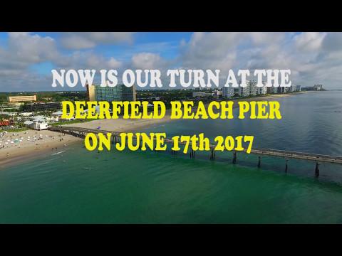 Guinness World Record Attempt - Underwater Human Chain Deerfield Beach FL