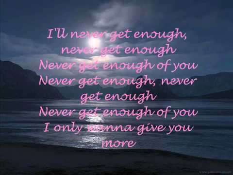 Air Supply - I'll Never Get Enough Of You Lyrics