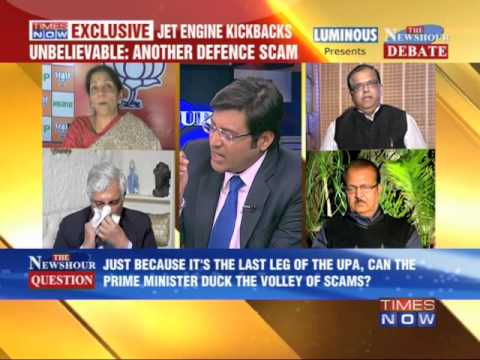 The Newshour Debate: Jet engines kickbacks (3rd March 2014)