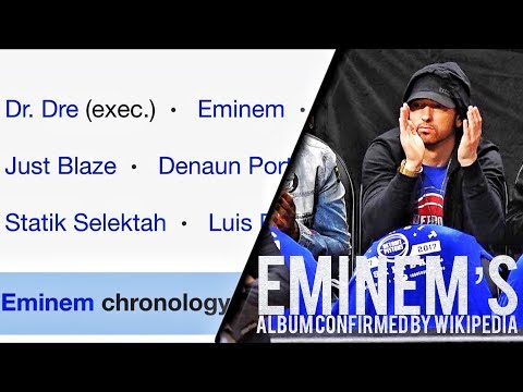 EMINEM RƎVIVAL CONFIRMED BY WIKIPEDIA?