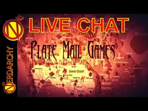 D&D, Game Sound Tracks, and Plate Mail- Nerdarchy Live Chat #199 - 동영상