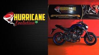 Escapamento Yamha Mt-07 2019 Taylor Made Lançamento -Hurricane Evolution
