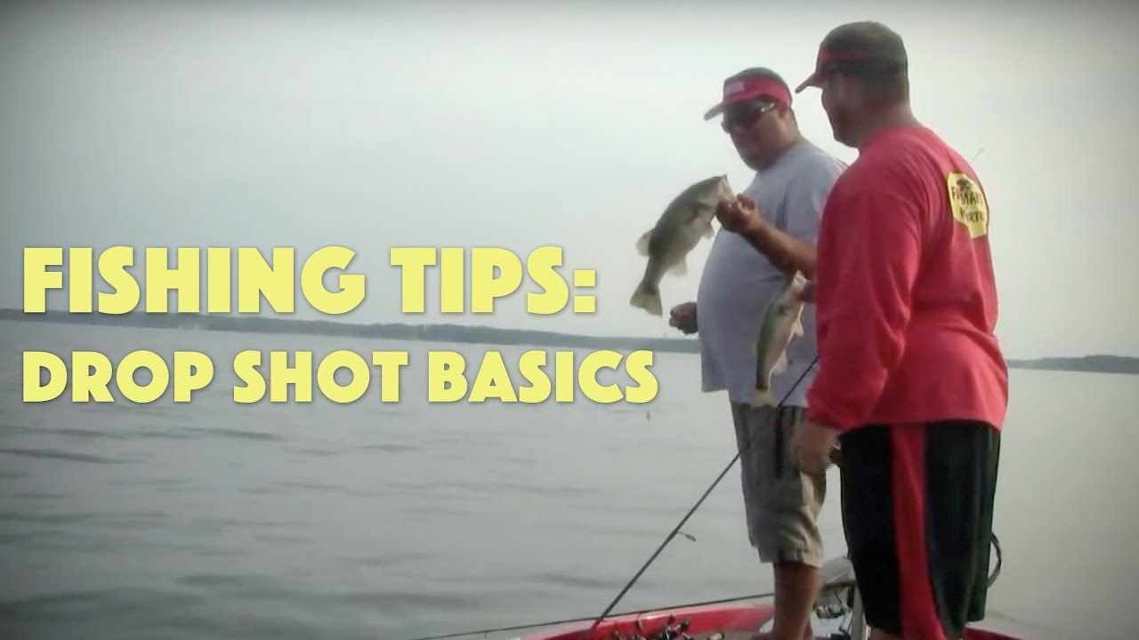 How to get started drop shot fishing for bass youtube for Drop shot bass fishing