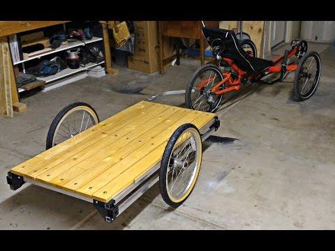 WIKE DIY Bike Cargo Trailer Kit