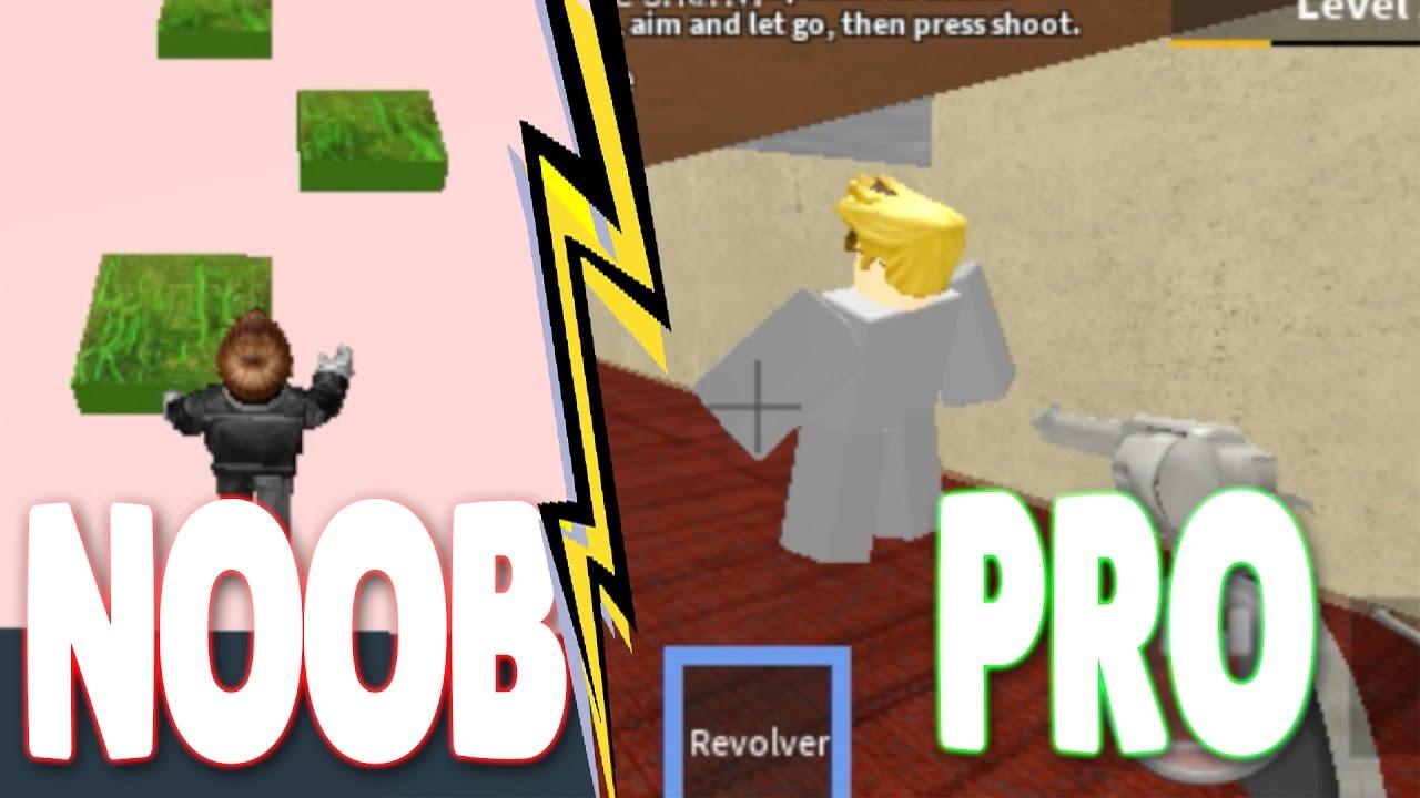 noob vs pro roblox