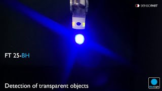 FT 25-BH - Detection of transparent objects